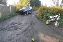 Víkendová nehoda
