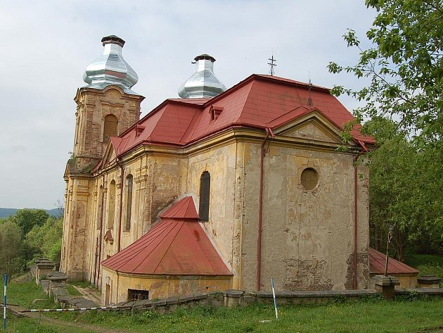 Poutní kostel ve Skocích.