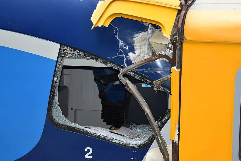 Nehoda vlaků u Perninku