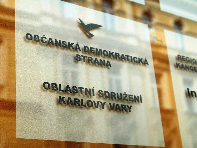 """Dluh sice """"nadělalo ústředí ODS, ale situace není příjemná ani pro region."""