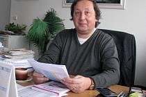 Ředitel Dopravního podniku Karlovy Vary Pavel Bohánek.