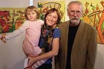 Milan Neubert a jeho dcera Jana Košková.