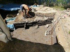Archeologický výzkum na Vladaři.