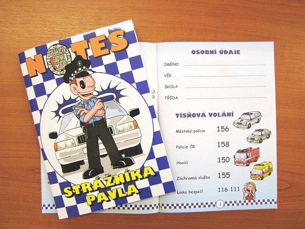 Projekt Notes strážníka Pavla se stal úspěšný i mimo hranice kraje.