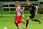 Tři body urvala v souboji s rezervou pražské Slavie fotbalová družina trenéra Mariána Geňa, která slavila výhru 2:1.