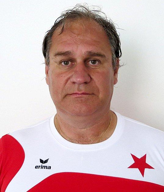 Trenér FC Slavia Karlovy Vary U14 - Dan Drahokoupil.