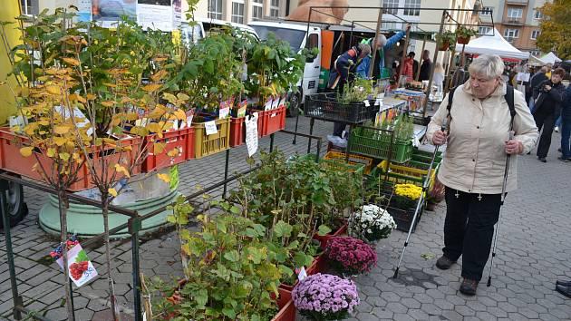 Farmářské trhy v Karlových Varech v loňském roce.