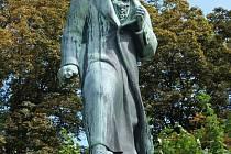 Beethovenův pomník v Karlových Varech