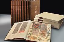 Faksimile bible českého krále Václava IV. (1361 - 1419).