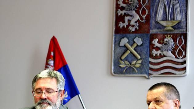 Jaroslav Borka společně s Václavem Sloupem