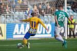 Pavel Šulc (číslo 11) , rodák z Toužimi, si plní svůj velký fotbalový sen. Po angažmá ve druholigové Jihlavě a ligové Opavě hájí v současnosti trikot Českých Budějovic, tedy celku první ligy.