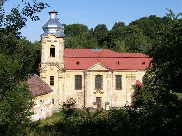 Sdružení pomáhá se záchranou poutního kostela ve Skokách.