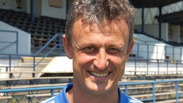 Stanislav Purkart, trenér karlovarských Buldoků.