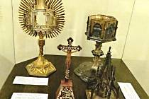 Sakrální expozice bude na jaře doplněna o další předměty.