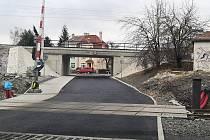 Opravený viadukt v karlovarských Bohaticích.