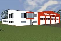 Na letišti bude nová stanice místních hasičů.