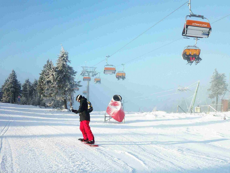 Nová Jáchymovská sjezdovka je povedená. A pokud bude dostatek sněhu, lyžování na ní je zážitek.
