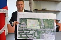 Starosta Pavel Čekan představil projekt areálu IZS