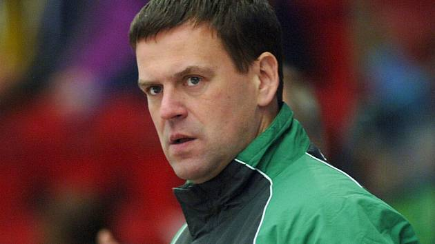 Trenér Karel Mlejnek.