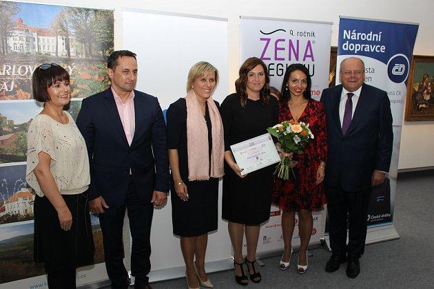 Slavnostní předávání ocenění v soutěži Žena regionu za rok 2018 se konalo v Galerii umění Karlovy Vary.