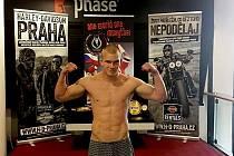 Martin Koucký, fighter CHB gym Karlovy Vary.
