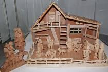 Výstava představí figurkové vyřezávané betlémy z rozsáhlé sbírky řezbáře Václava Nekoly.
