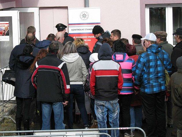 K incidentu došlo před setkáním prezidenta s občany v Bochově.