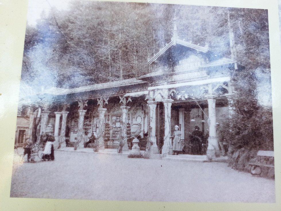 Ottova kolonáda, která prochází náročnou rekonstrukcí. Repro fotografie