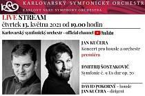 Symbolické rozloučení Jana Kučery s pozicí šéfdirigenta KSO se odehraje tento čtvrtek 13. května.