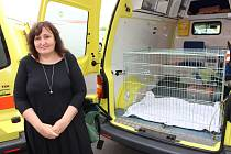 Hanu Šimkovou potěšila vloni sanitka, kterou Ostrovský Macík získal od kraje.