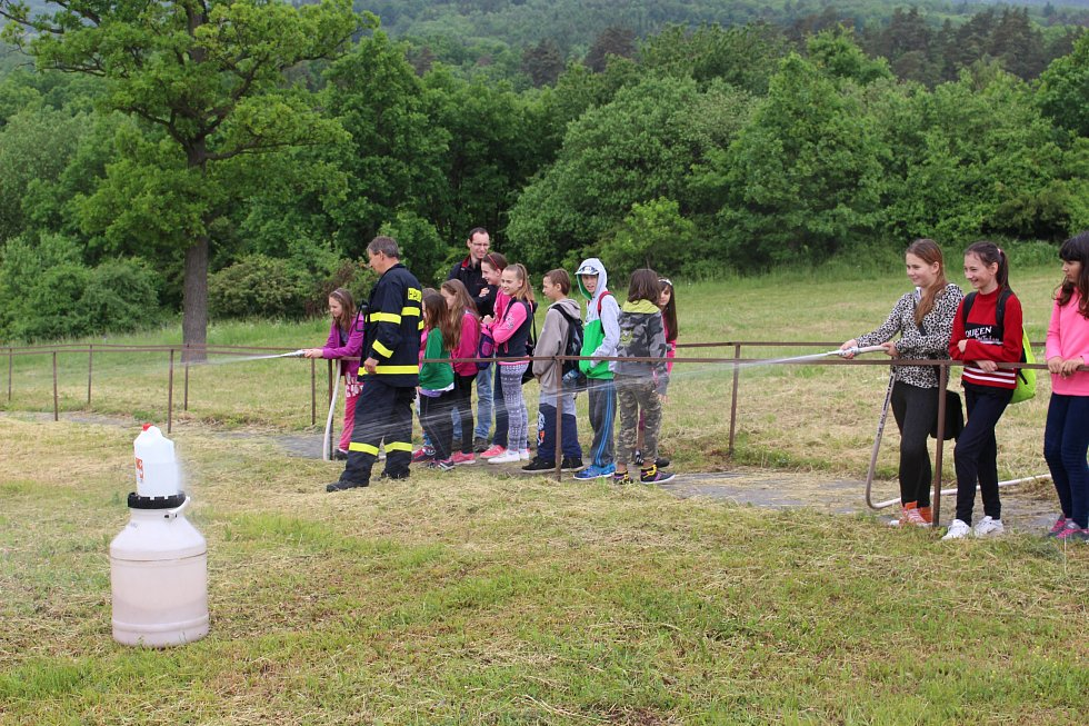 Den pro děti ve vojenském výcvikovém prostoru Hradiště