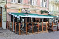 Restaurace U Zlaté kachny v Karlových Varech.