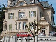 Interaktivní galerie Becherova vila v Karlových Varech.