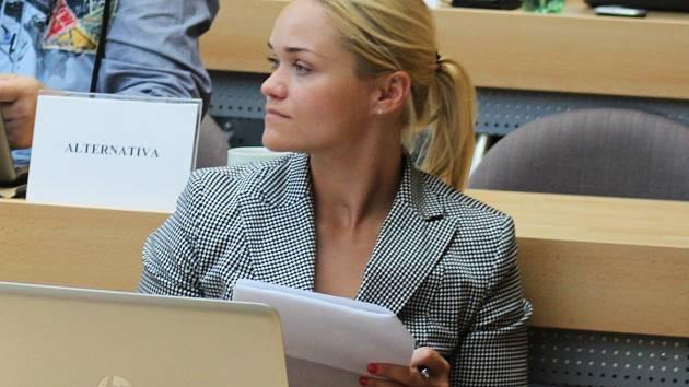 Markéta Wernerová obhájila post krajské zastupitelky a je jednou ze 13 žen v zastupitelstvu.