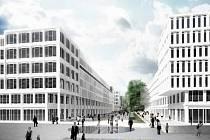 Vizualizace nové podoby areálu Dolního nádraží v Karlových Varech společnosti Lordship.