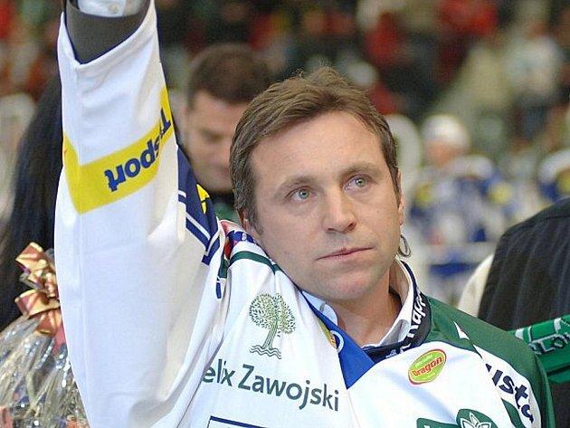 Josef Řezníček se naposledy rozloučil s hokejem.