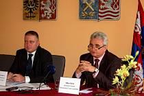 Předseda senátu Milan Štěch v Karlových Varech