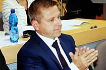 Odvolaný starosta Ostrova Pavel Čekan (ČSSD).