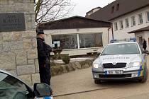 Policejní zátah v Novém Kostele na Chebsku