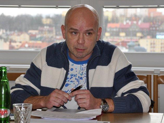 Roman Maleček, jednatel KV Areny.