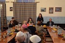 Výroční setkání připravené Židovskou obcí v Karlových Varech.