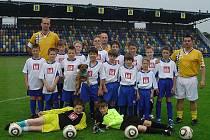 Kyselské fotbalové naděje si užily o víkendu v Blšanech 'ligové' dvoudenní soustředění.
