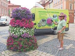 Miloslav Štěpán propadl kouzlu květin a dnes je za ním vidět kus skvělé práce.