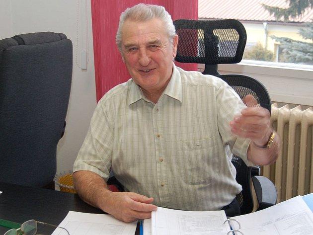 Antonín Vrána, starosta Toužimi.