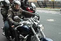 Tradiční setkání motorkářů Dennis Hopper Party.