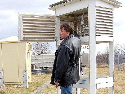 Meteorologické stanice jsou užitečným pomocníkem a zdrojem informací.