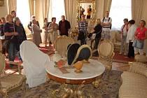 Pouhé dva dny byly na zámku v Bečově k vidění předměty, které jsou jinak umístěné v depozitáři.
