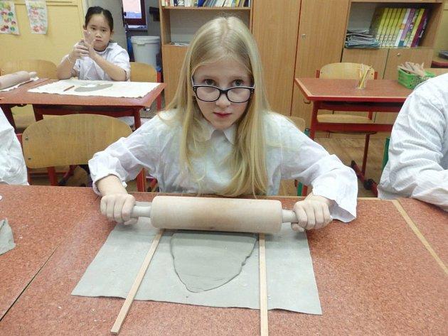 Zájmový den v Základní škole Vančurova ve Staré Roli.