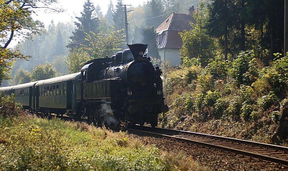 Oslavy 110 let železniční trati z Karlových Varů do Potůčků - Krušnohorský Semmering