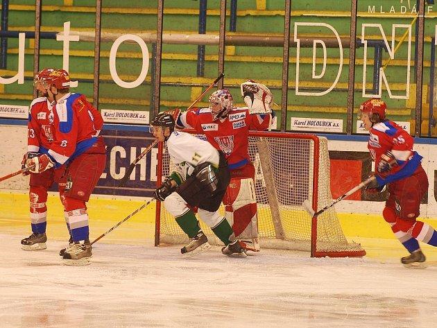 Junioři HC  Energie vs. HC Mountfield České Budějovice